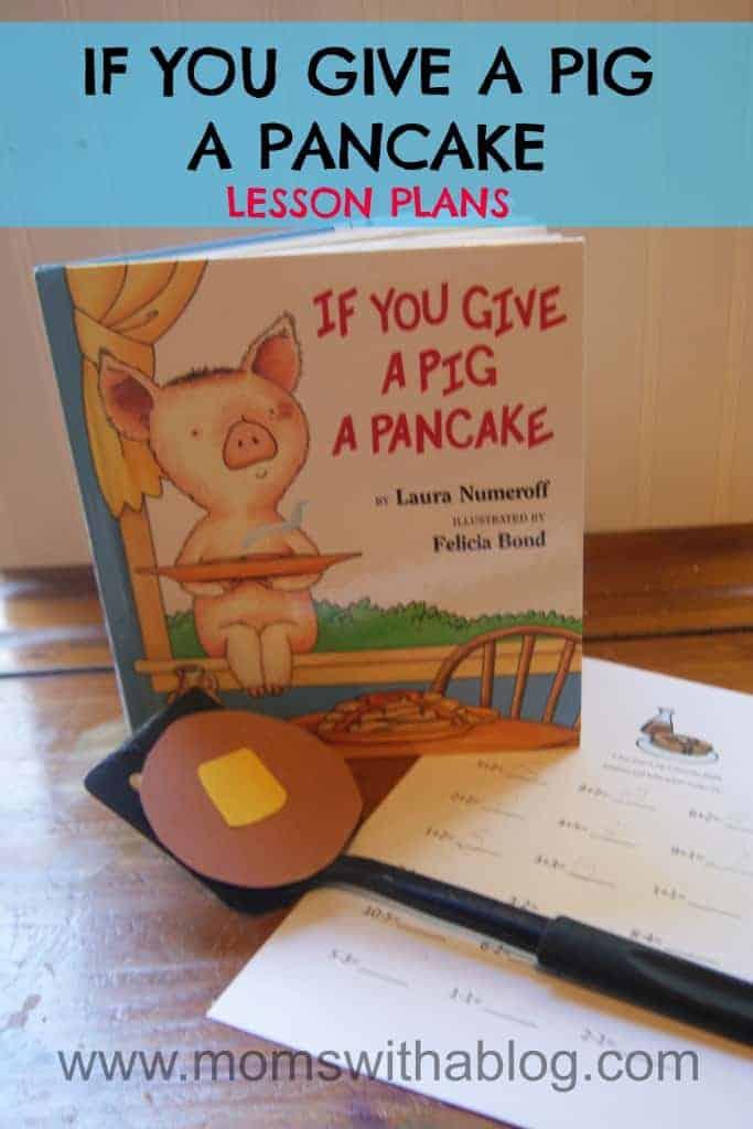 Homeschool Unit Study: If You Give A Pig A Pancake