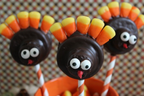 Oreo Turkey Pops