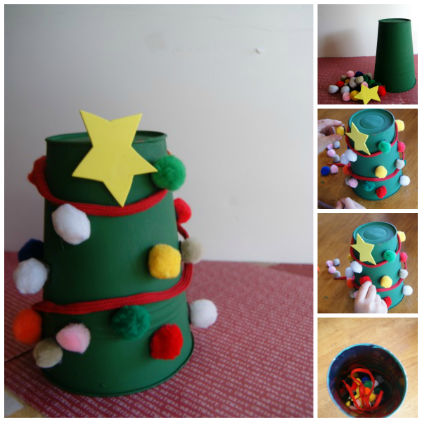 Christmas Craft For Fine Motor Skills