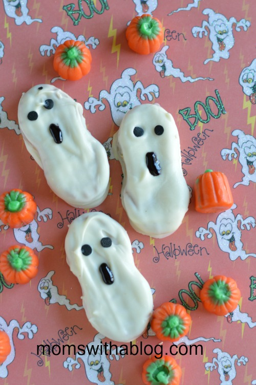 Easy Nutty Buddy Ghosts