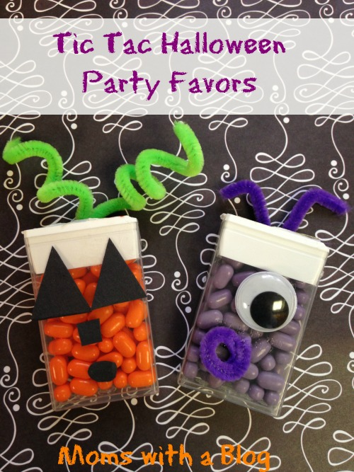 Tic Tac Halloween Party Favors