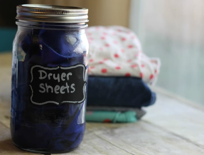 essential oil dryer sheets
