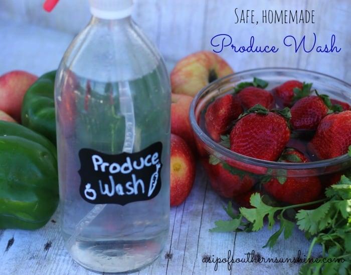 produce wash horizontal