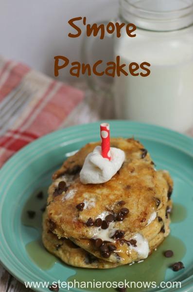 smore pancakes