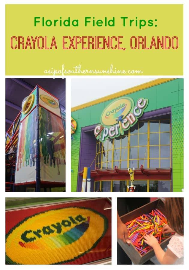 Homeschool Field Trip-Crayola Experience