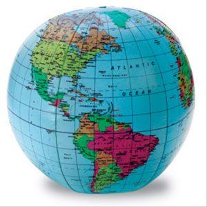 inflate globe
