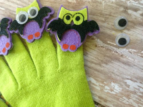 Spooky Owl Finger Puppets Craft