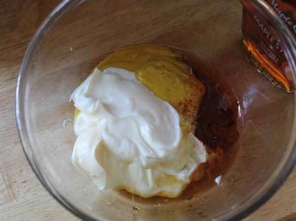 maple mustard sauce