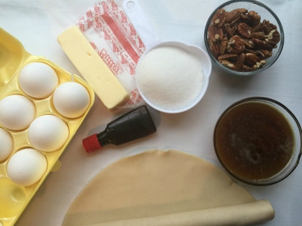 Pecan Pie Cobbler Ingredients