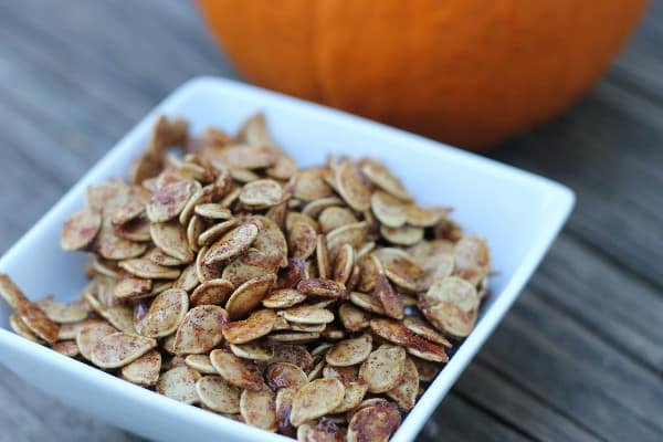 roasted pumpkin seeds sweet