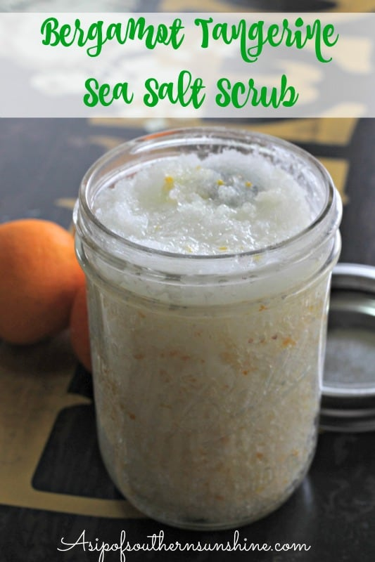 Bergamot & Tangerine Sea Salt Scrub