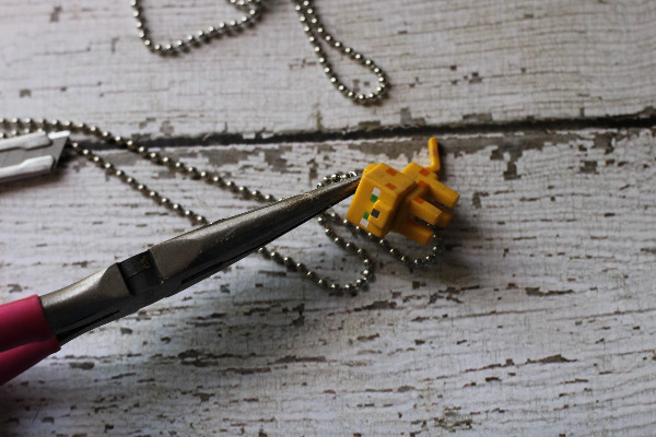 minecraft necklace pince