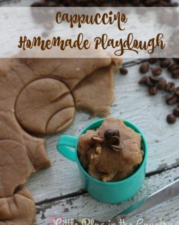 Cappuccino Homemade Playdough