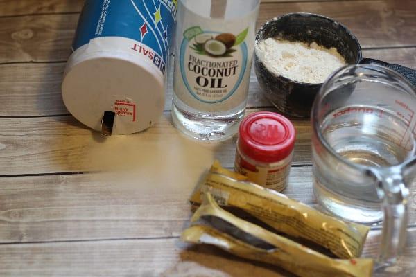 coffee homemade playdough ingredients