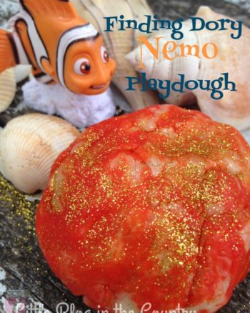 Finding Dory Nemo Playdough