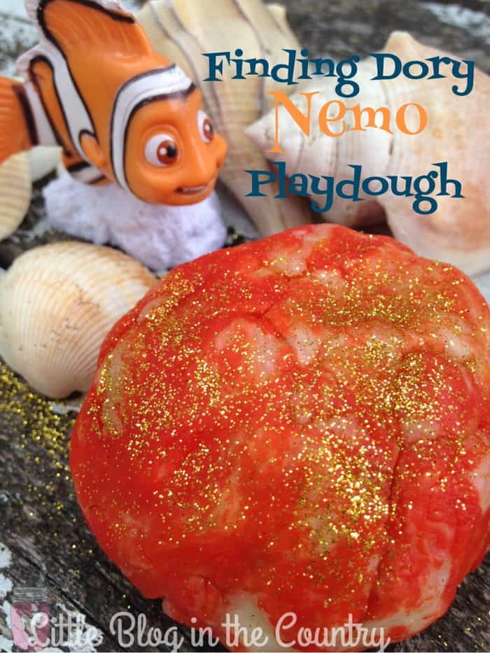 Finding Dory Nemo Playdough