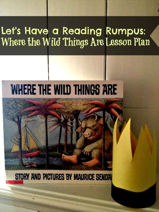 Where the Wild Things Are Unit Study