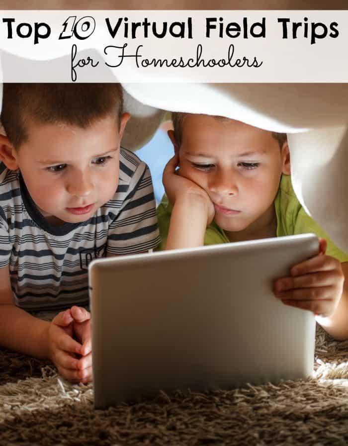 Top 10 Virtual Field Trips for Homeschoolers