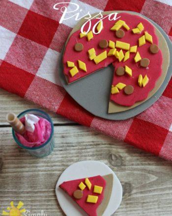 American Girl Food DIY- Pizza