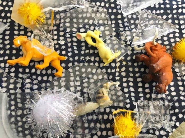 Ice Age Sensory Activity for Kids