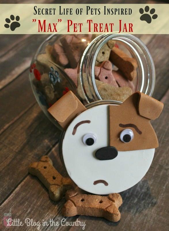 the secret life of pets max treat jar