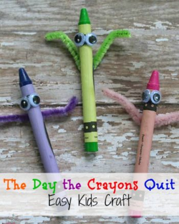 The Day The Crayons Quit Craft