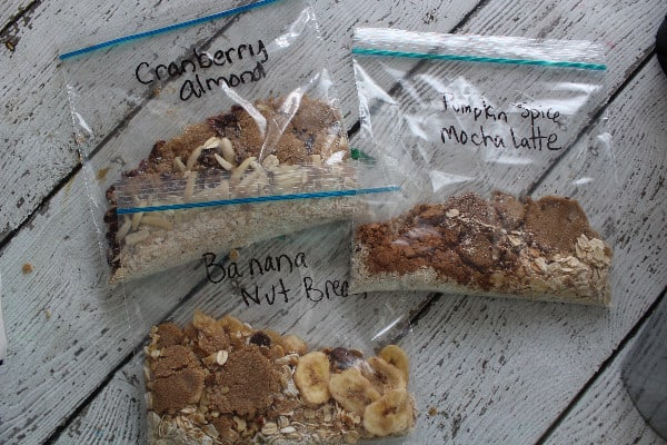 instant homeade oatmeal packets bgs