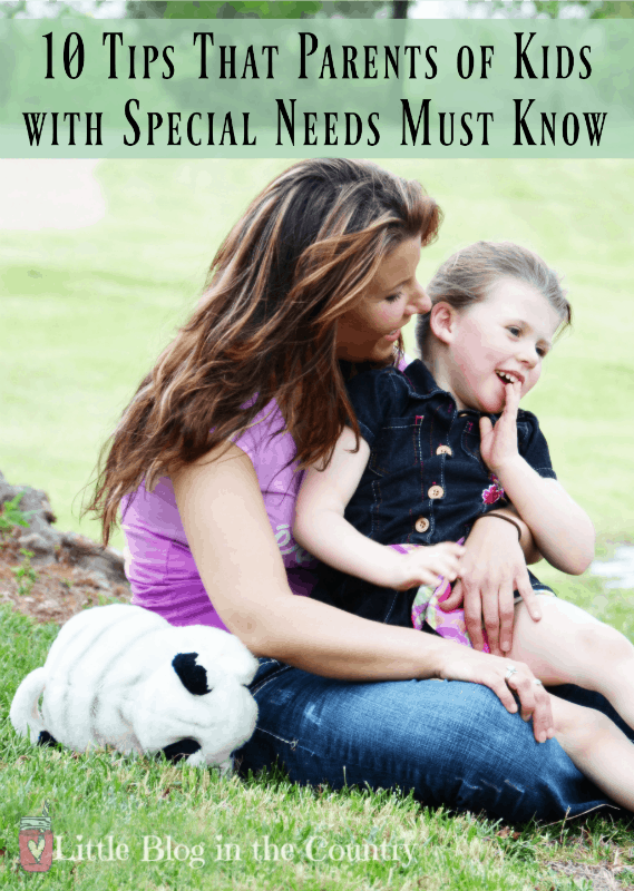 10 Tips that Special Needs Parents need to know
