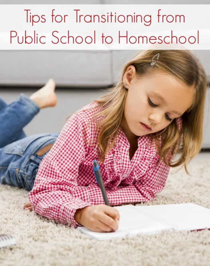Tips for Transitioning from Public School to Homeschooling