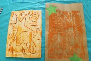 1 kids art series-printmaking