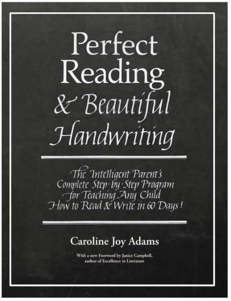 Reading and Handwriting curriculum