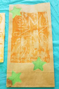 kids printmaking