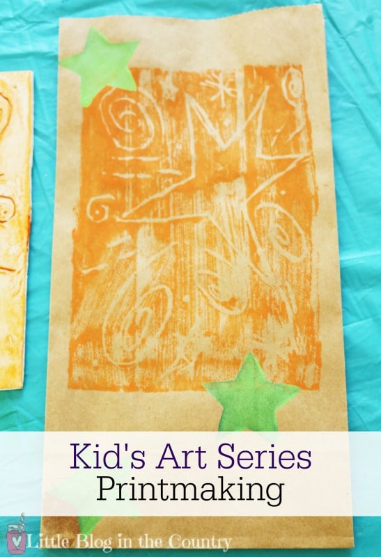Kid's Art Series- Printmaking