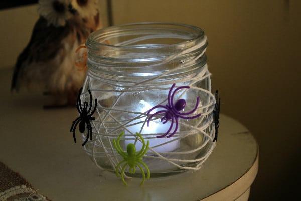spider web candle holder 6