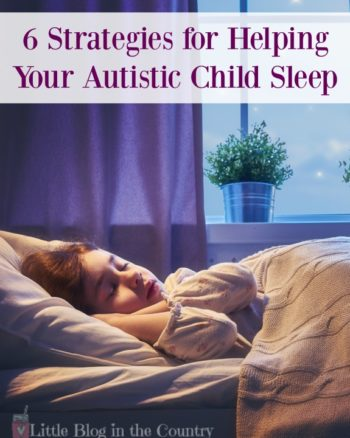 Ways to help your autistic child sleep at night