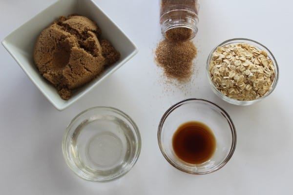 oatmeal brown sugar scrub ingredients