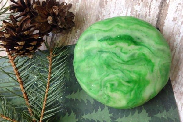 Wintergreen Playdough