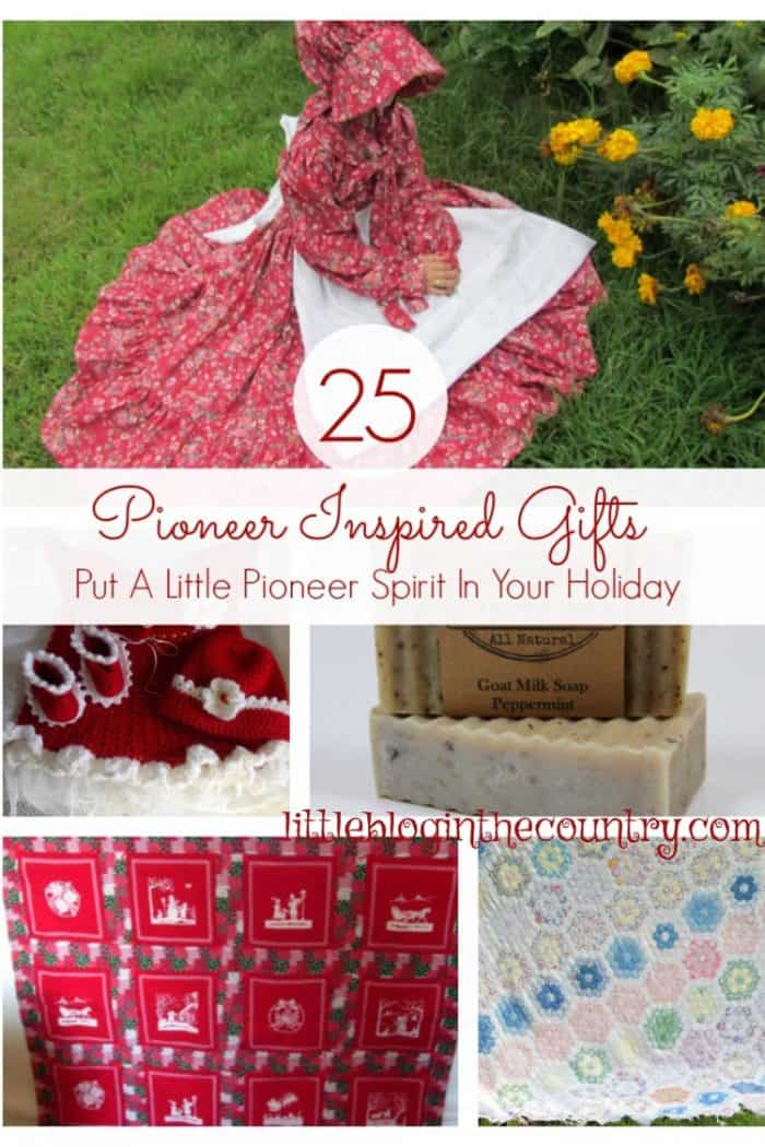 pioneer Christmas gifts