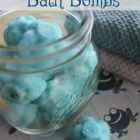 Kids Calming DIY Bath Bombs