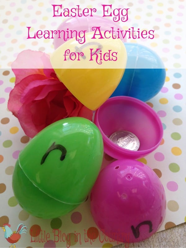 Easter Egg Learning Activities for Kids