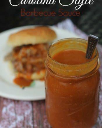 How to make carolina bbq sauce