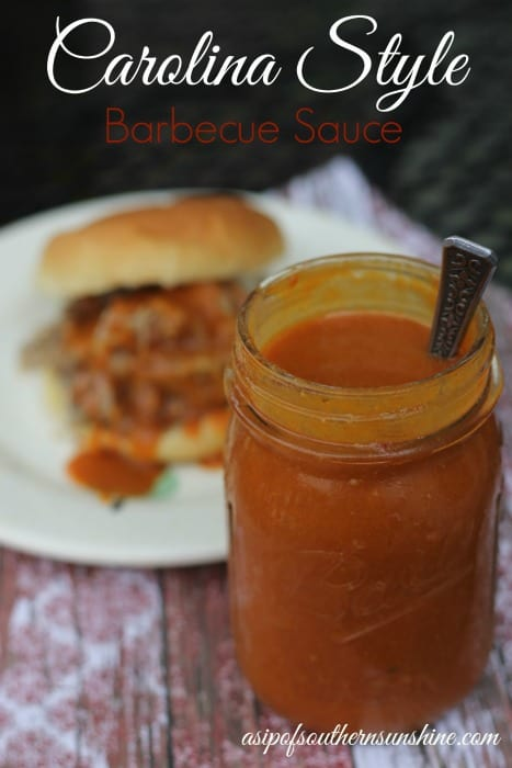 How to make carolina bbq sauce