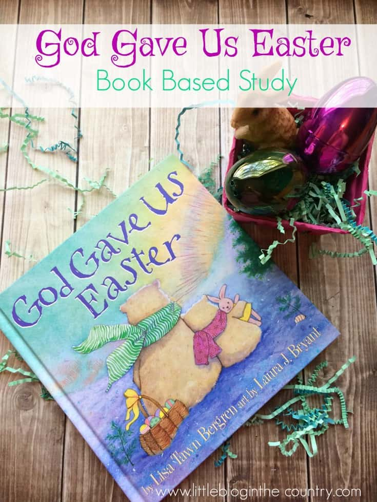 God Gave us Easter Book Based Learning Activities