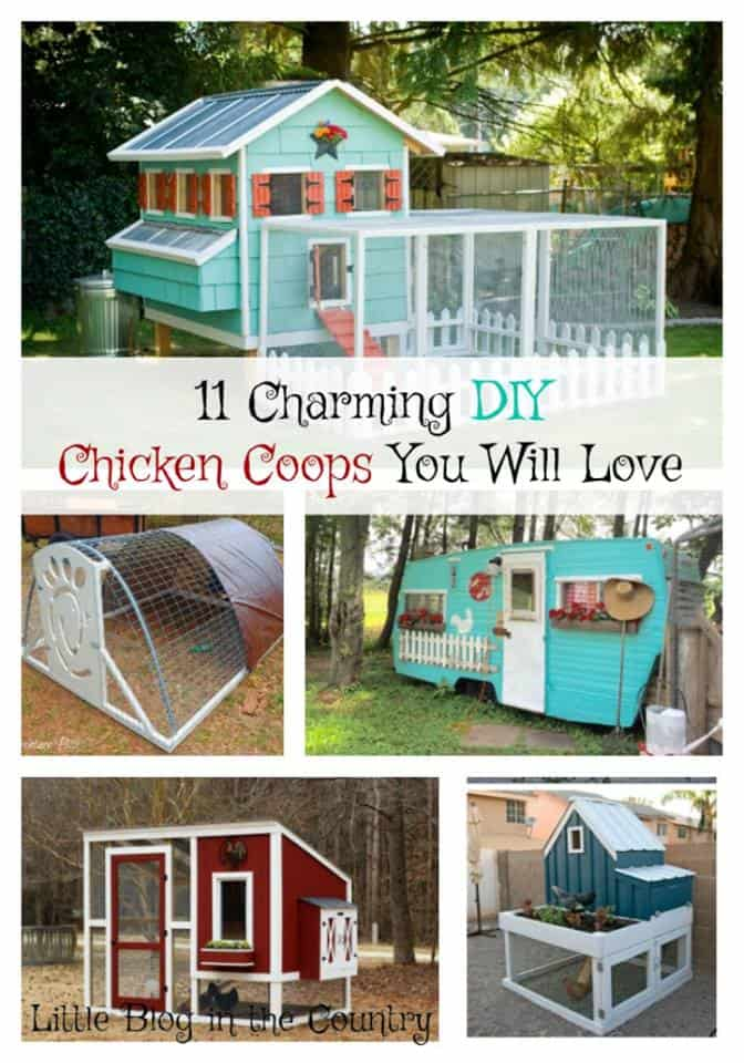 11 Charming Diy Chicken Coops You Will Love Simple In The
