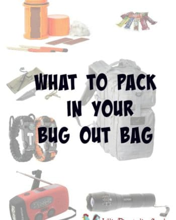 What to Pack in Your Bug Out Bag