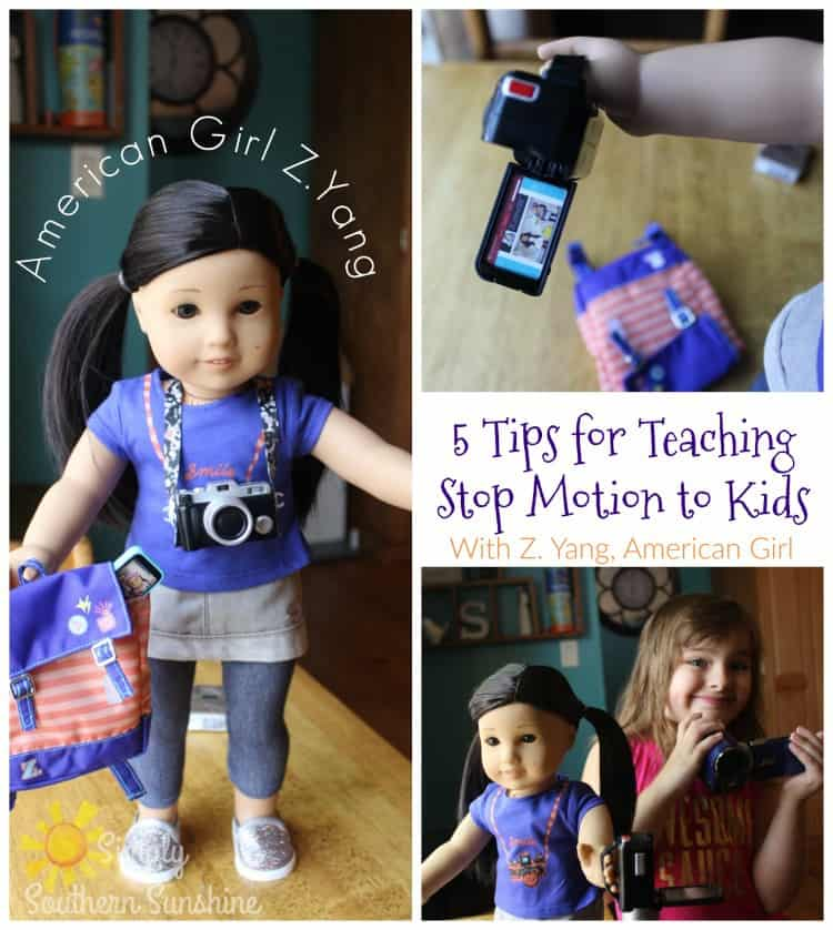 tips to teach stop motion to kids