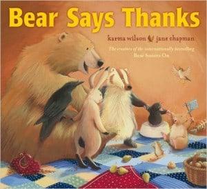 bear say thanks