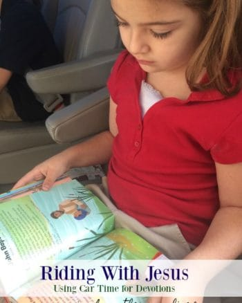 Making the Most of Car Time with Car Ride Devotions