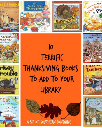 10 Terrific Thanksgiving Books