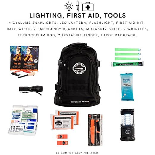 Prepping your 72 hour kit